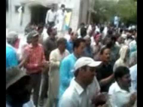 A.G Office Lahore Strike 58th Day
