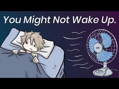 What a Fan Does to Your Body When You're Asleep