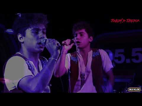 Greta Van Fleet Live at Studio 9 on Jonesy's Jukebox