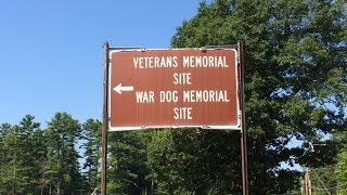 War Dogs Memorial In New Hampshire