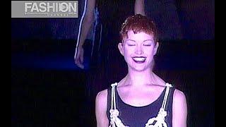 ERNESTINA CERINI Fall 1993 Milan - Fashion Channel