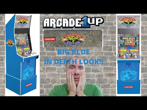 Arcade1up Street Fighter II Champion Edition Big Blue In Depth Look from PsykoGamer