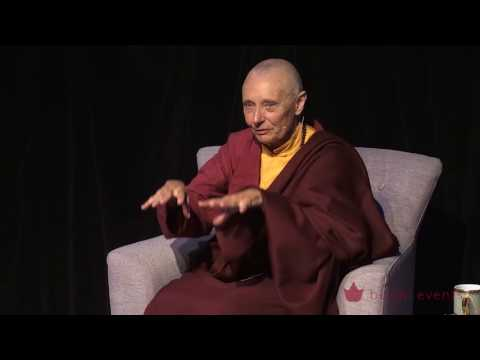 Tenzin Palmo Teaching, Wheel of Life, Samsara in the Raw 11 of 12