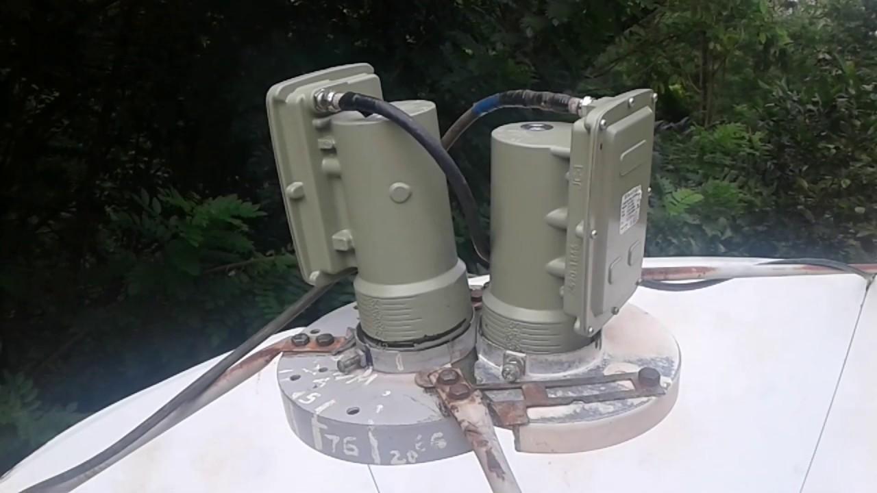 Intelsat-20_68 5E and Intelsat-17_66 0E One Dish Installation (part_01)