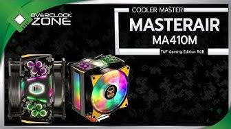 รีวิว Cooler Master MasterAir MA410M : TUF Gaming Edition