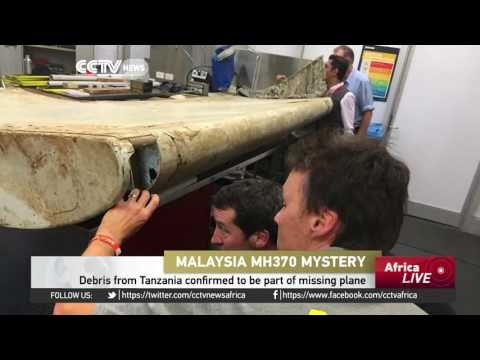 Debris from Tanzania confirmed to be part of missing Malaysian plane