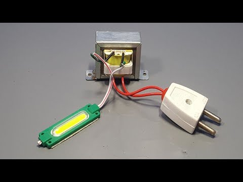 12v Led Flasher Direct 220v Without Diodes and Transistor _ Amazing Invention