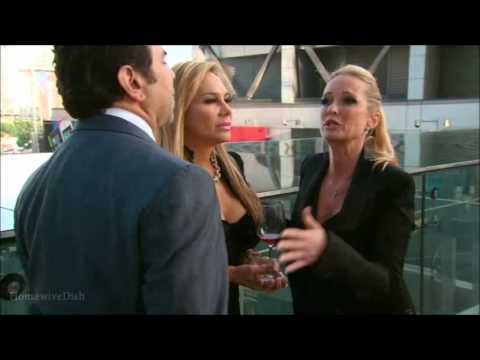 The Real Housewives of Beverly Hills  Mauricio's Event Fight Part 1