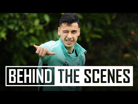 Welcome back, Gabriel Martinelli!  |  Behind the scenes at the Arsenal training center