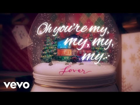 Taylor Swift - Lover Remix Feat. Shawn Mendes (Snow Globe Lyric Video)