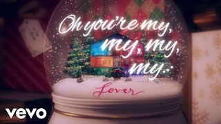 Gambar cover Taylor Swift - Lover Remix Feat. Shawn Mendes (Snow Globe Lyric Video)
