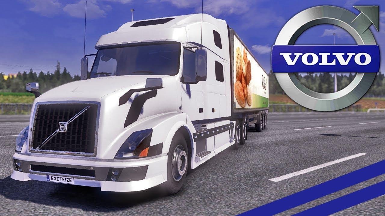 Euro Truck Simulator 2 - Volvo VNL 780 - YouTube