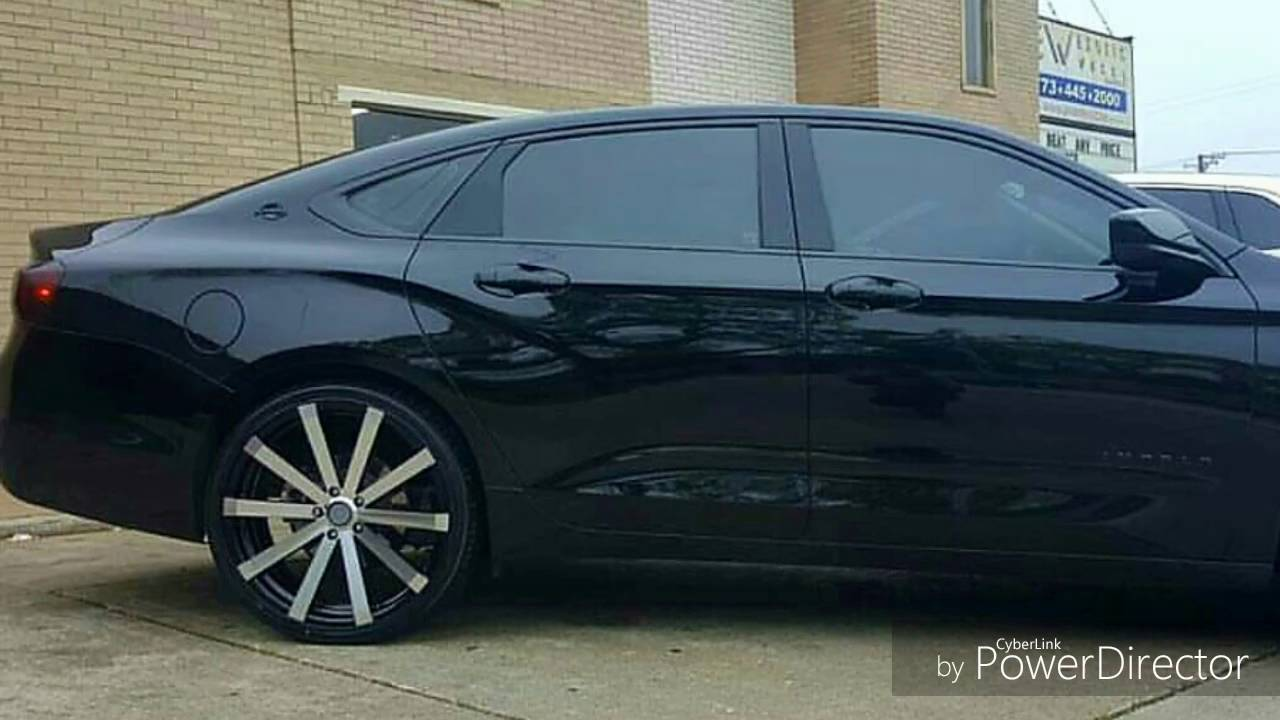 2017 Chevy Impala Ls On 22 Ellure Vw12 With Forgioto Tires 255 30 You