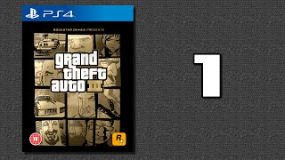 Grand Theft Auto III (100%) [PS4] // 1080p // Part 1