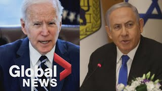 Israel-Gaza conflict: Biden finally joins calls for ceasefire as civilian death toll rises