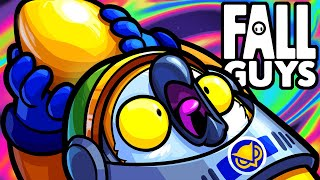 Fall Guys Funny Moments - Jelly Bean Racer Royale!