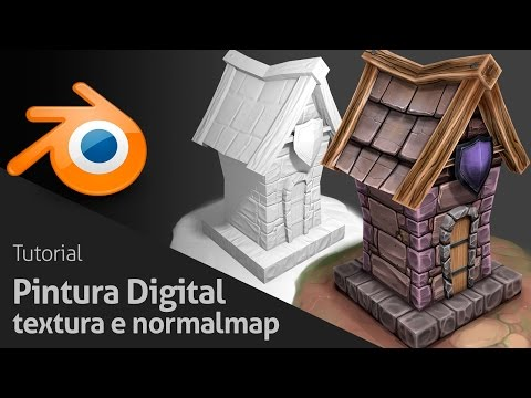 Digital Painting Tutorial - Texture and Normalmap | Royal 3D Studio