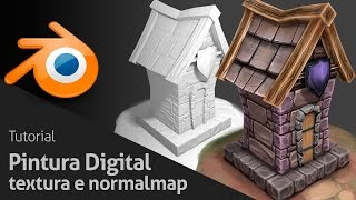 Tutorial Pintura Digital - Textura e Normalmap | Royal 3D Studio
