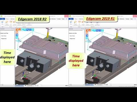 Waveform Machining Performance Improvement | Edgecam 2019 R1