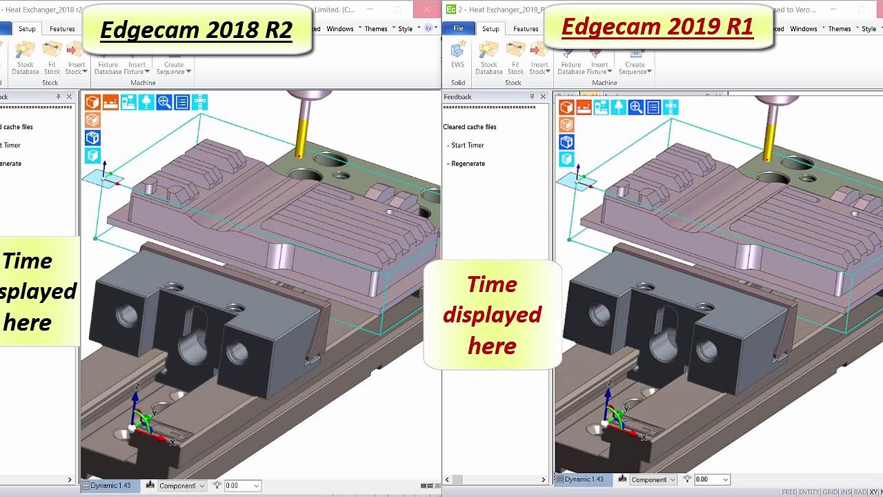 Waveform Machining Performance Improvement   Edgecam 2019 R1