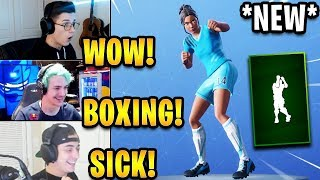 Streamers React to *NEW* 'Shadow Boxer' Emote! | Fortnite Highlights & Funny Moments