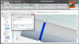تصميم alibre (Geomagic) البرنامج التعليمي: كيفية إنشاء O-حلقة أخدود