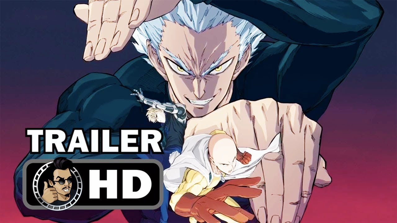 One Punch Man Season 2 Official Teaser Trailer Hd Anime Series Youtube