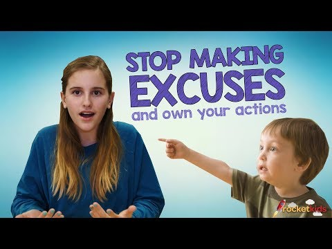 Stop Making Excuses & Own Your Actions