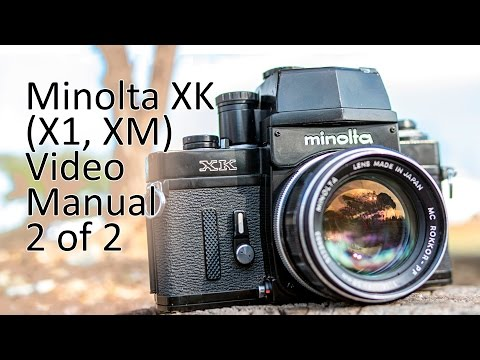 Minolta XK (X1, XM) Video Manual 2 Of 2