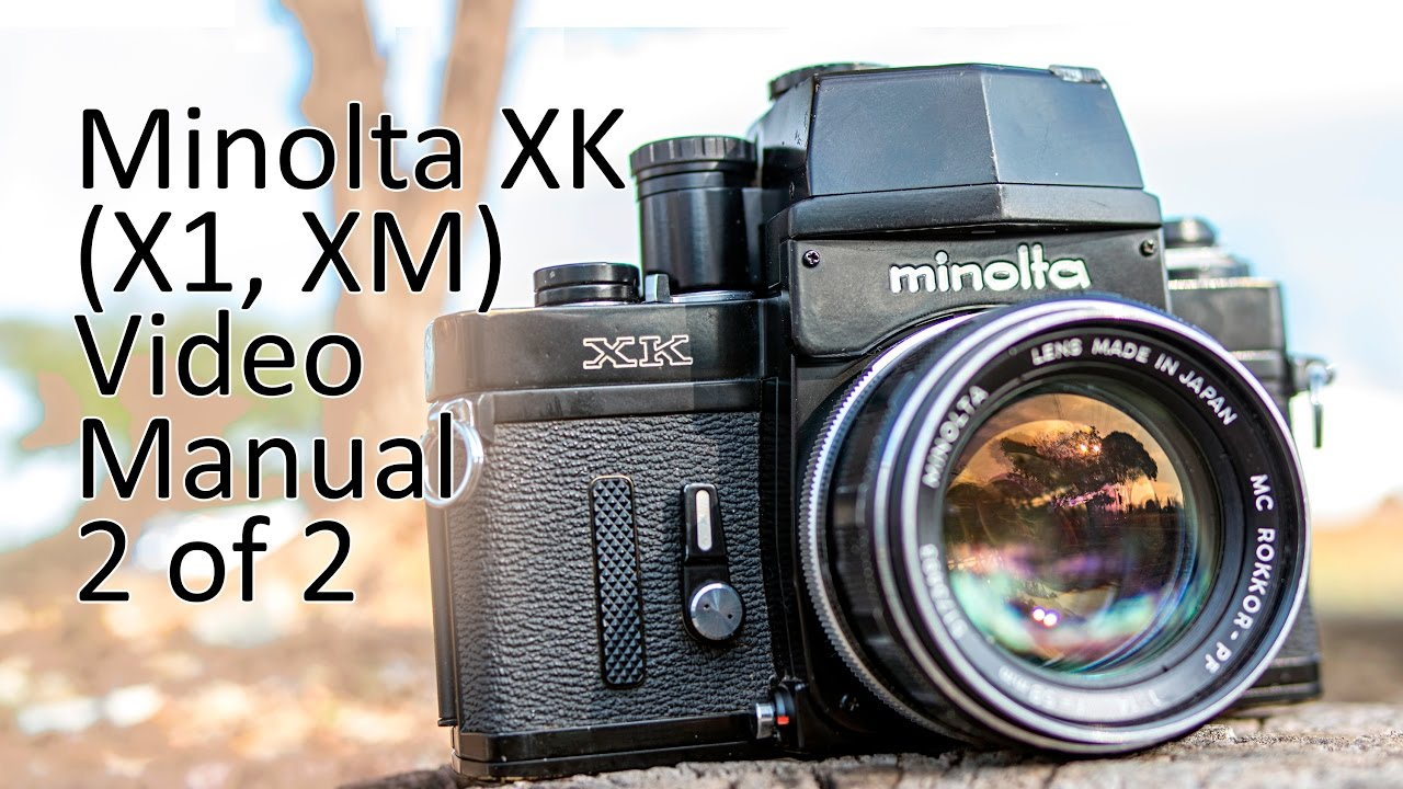 minolta xk x1 xm video manual 2 of 2 youtube rh youtube com Minolta XK Screen App minolta xk owners manual