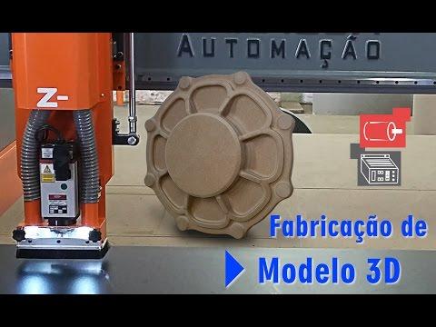 ROUTER CNC - MOLDE 3D - MODELAÇÃO