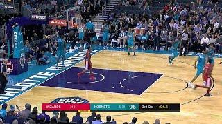 3rd Quarter, One Box Video: Charlotte Hornets vs. Washington Wizards