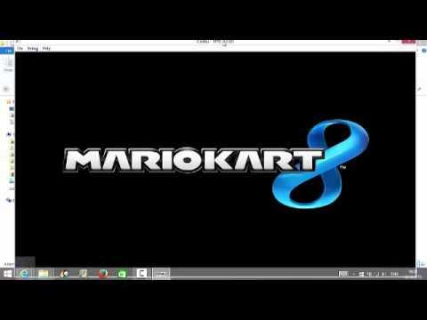 Testing Mario Kart 8 on CEMU Wii U Emulator