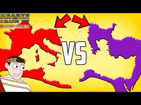 Western Roman Empire And Byzantine Empire Return! Hearts Of Iron 4 HOI4