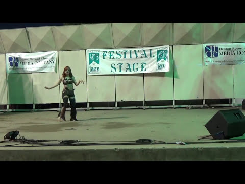 Noel dances to Spirals! From The Denton Art's And Jazz Fest 2017