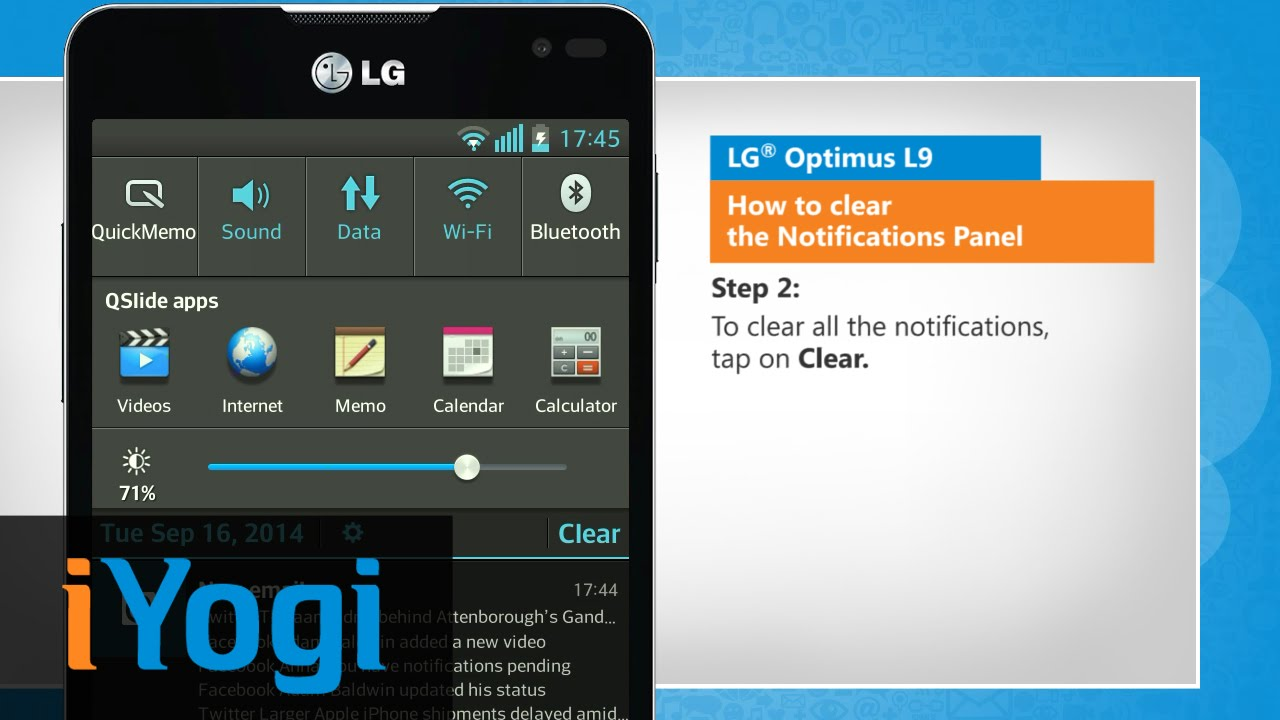 How to clear the notifications panel in lg optimus l9 youtube how to clear the notifications panel in lg optimus l9 ccuart Choice Image