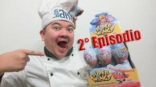 UNBOXING 24 EGGS SURPRISE OVETTI SUPER WINGS SORPRESA UOVA DI CIOCCOLATO ITALIANO AEREI 2° EPISODIO