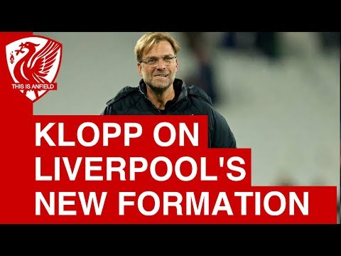 """Jurgen Klopp on Liverpool's new formation: """"It was a very defensive lineup"""""""
