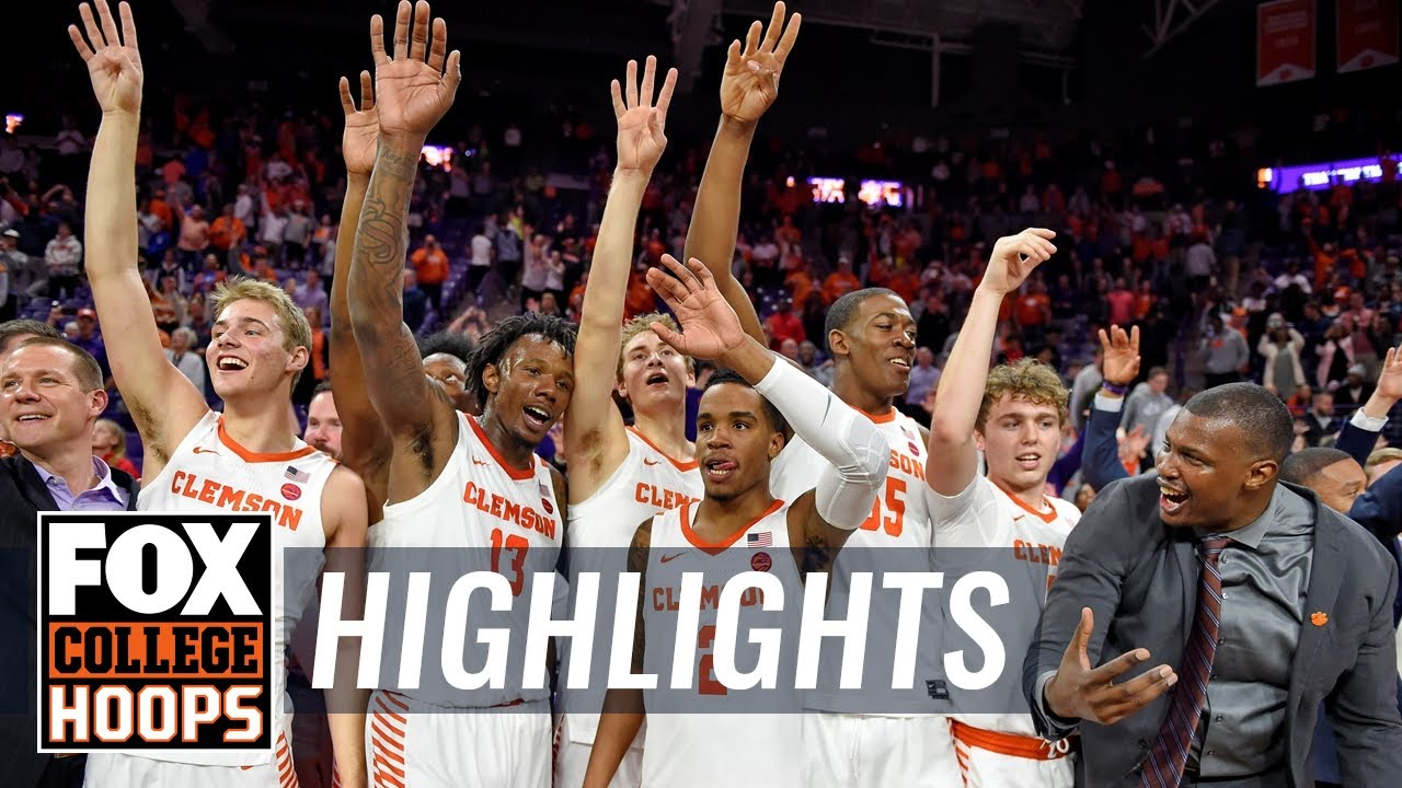 No. 3 Duke gets knocked off by Clemson, 79-72  HIGHLIGHTS