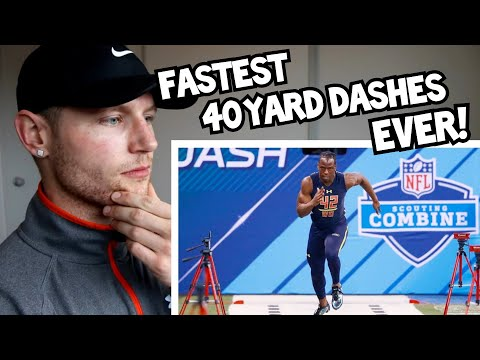 Rugby Player Reacts to The 5 FASTEST PLAYERS of NFL Combine History How Their Careers Turned Out!