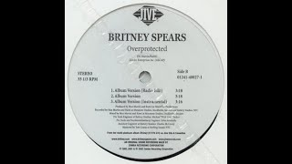 Britney Spears - Overprotected (Vinyl)
