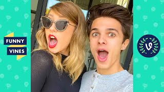 TRY NOT TO LAUGH - Brent Rivera Funny Tik Toks & Instagram Videos!