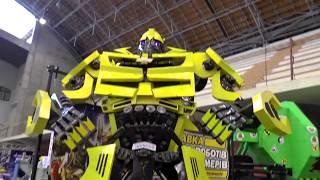 Роботы Машинки, Трансформеры Бамблби Видео для мальчиков