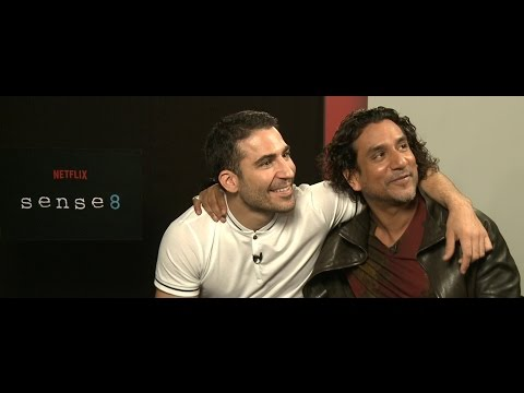 Entrevista com Miguel Ángel e Naveen Andrews de Sense8