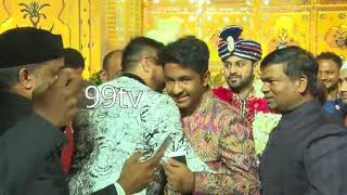 Grand Marriage Ceremony Of Trs Bodhan Mla Mr Mohd Shakeel Amir Daughter At Imperial Garden Sec.