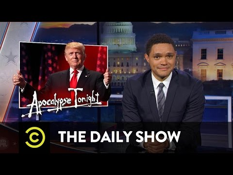 The Daily Show - Donald Trump Accepts the GOP Nomination & Ted Cruz Gets Booed at the RNC