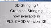 PLS-CADD/Lite for Sag-Tension - YouTube