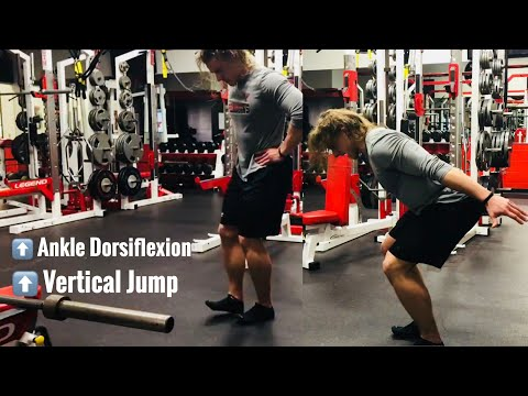 How To Jump Higher: Ankle Dorsiflexion