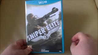 Sniper Elite V2 Nintendo Wii U Unboxing