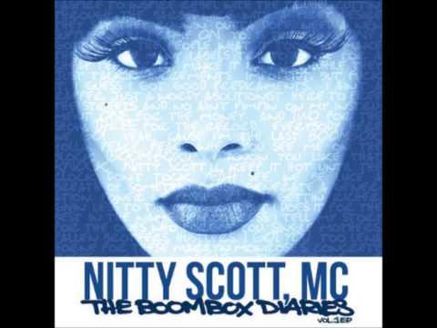Nitty Scott, MC- The Boombox Diaries Vol  1 EP